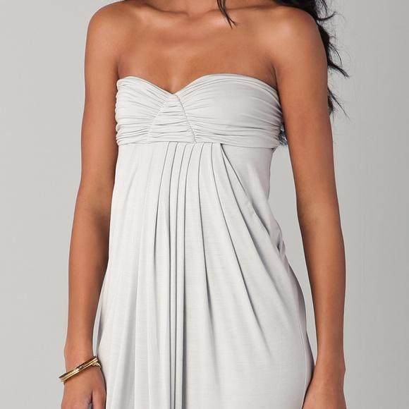 Rachel Pally Womens Strapless Printed Dress